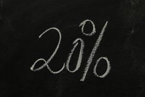 chalkboard 20% social media management Perth