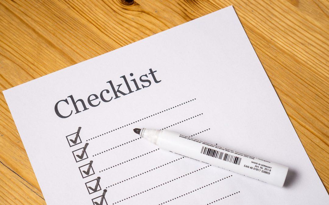 Website Copy Health Checklist
