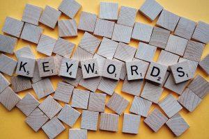 scrabble letters finding keywords copywriter perth