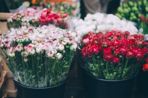 bunches of flowers florist business